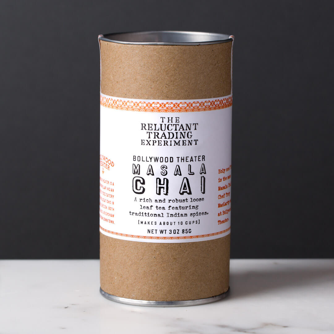 Shop our masala chai in three sizes
